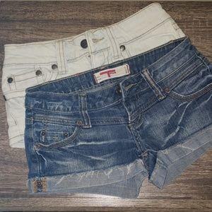 Jean Shorts Bundle (Hydraulic/T-Five) Denim Shorts